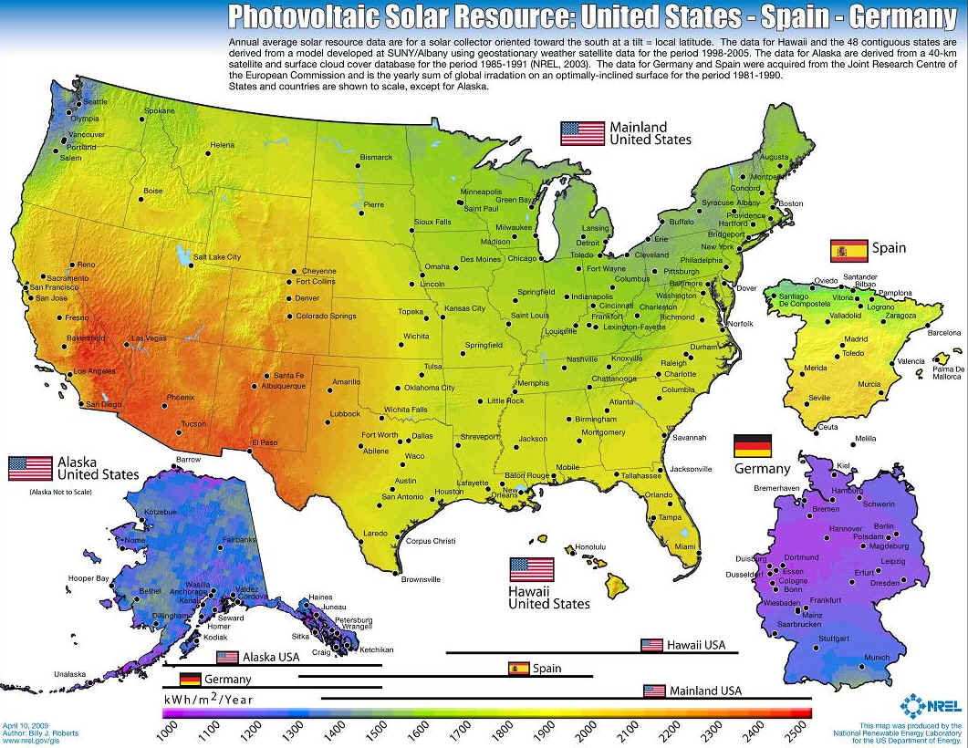 US Solar Resource