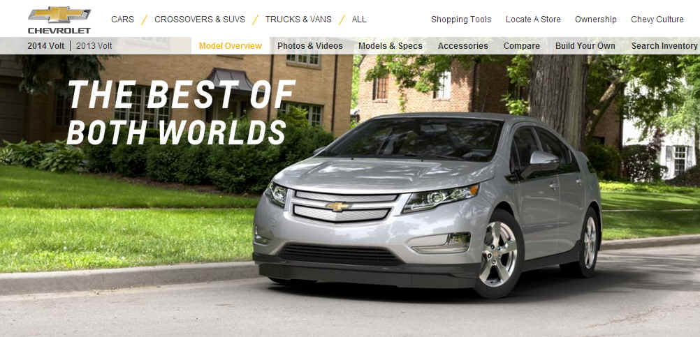 Chevy's new extended range electric Volt